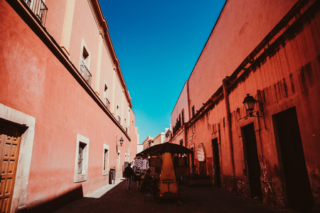 Streets of Queretaro Mexico