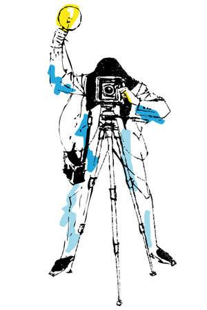 Photographer Stock Vector - 5752549