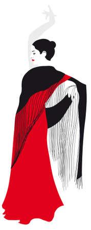 Flamenca Stock Vector - 5752542