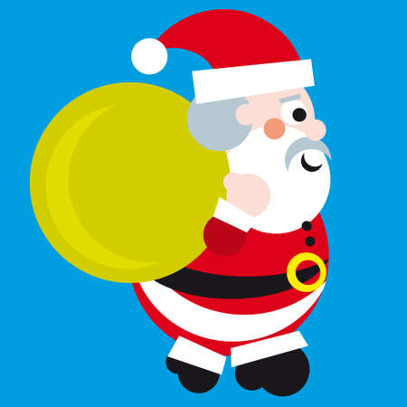 kepi: Santa Claus Vector Illustration