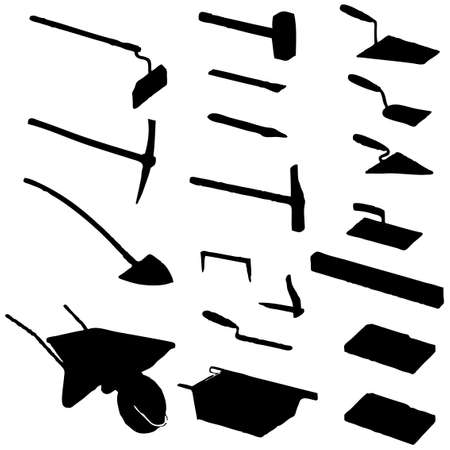 collection of tool vector Stock Vector - 5892423