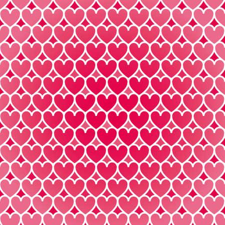 valentino: Illustration heart pattern background