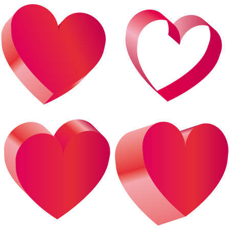 Heart vector illustraton Vector