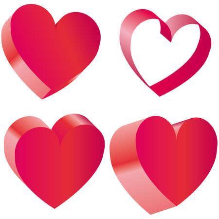 illustraton: Heart vector illustraton Illustration