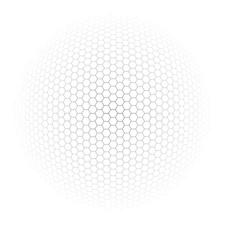turns of the year: ball background - vector illustration