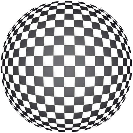 visueller Effekt mit Schachbrett