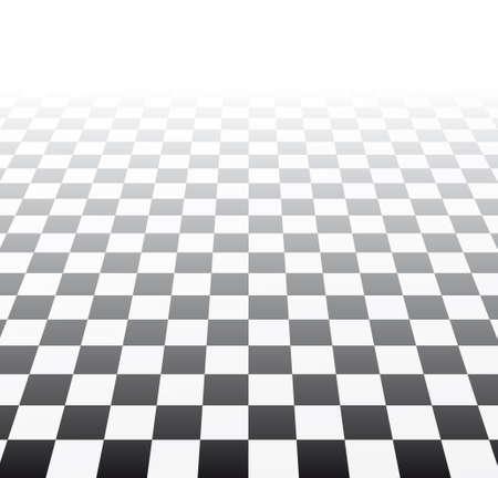 tablero de ajedrez: efecto visual con tablero de ajedrez