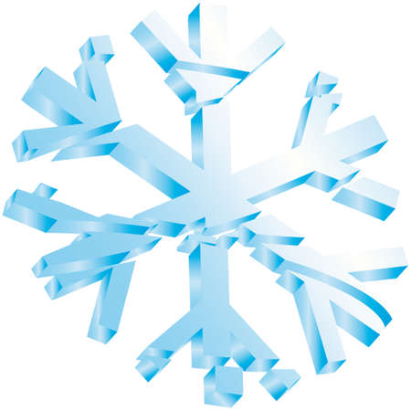 star snow ice christmas  Vector