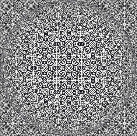 Illustration seamless background vector wallpaper abstract art Stock Vector - 6304559