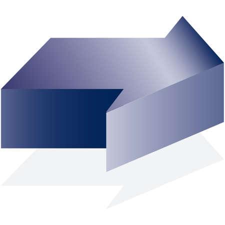 upward movements: Arrow blue illustration icons