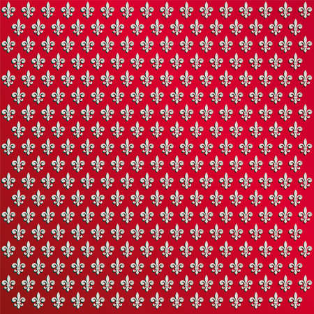 fleur de lys wallpaper Stock Vector - 6785170