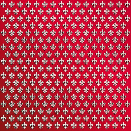 nobility symbol: fleur de lys wallpaper Illustration