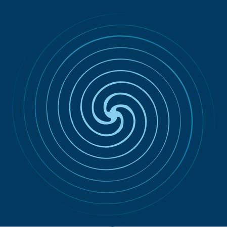 Fondo de espiral  Ilustración de vector