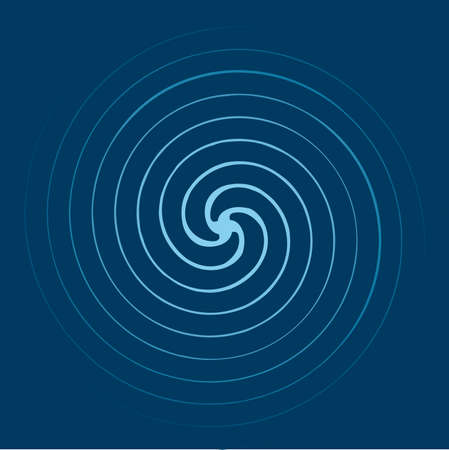 Spiral background Stock Vector - 6785271