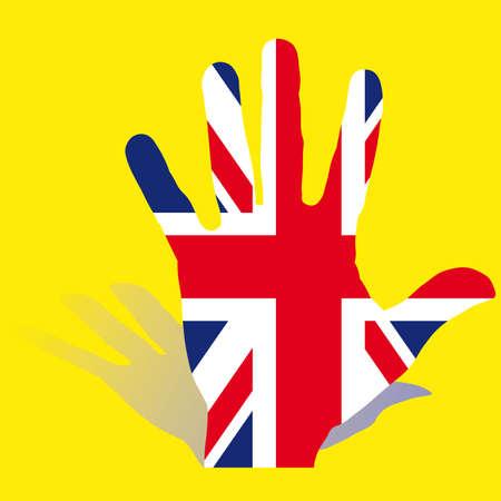 United Kingdom flag Stock Vector - 6892228