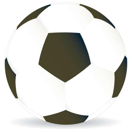 soccer game ball illustration world cup football Vector
