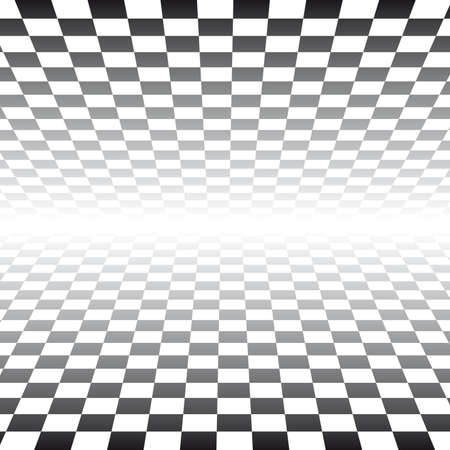 the third dimension: Checker Board Pattern Background -  illustration  Illustration