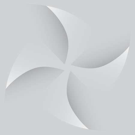 background windmill  origami illustration Stock Vector - 6860217