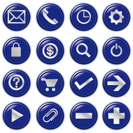 web computer bubble Icons, File pictogram Vector