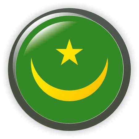 Flag Mauritania Orb Vector