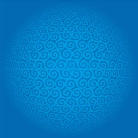 triskele: triskeles - seamless pattern background