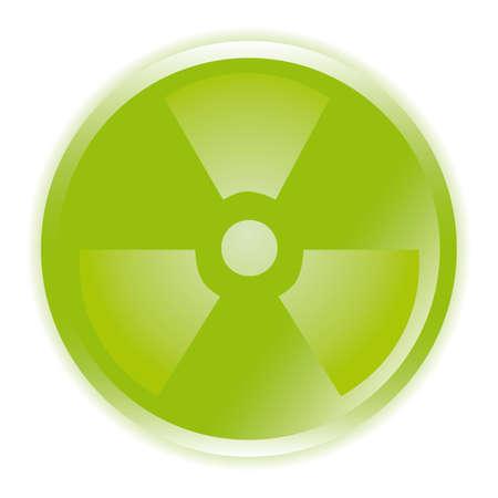radioactive sign: icono de s�mbolo de signo radiactivos