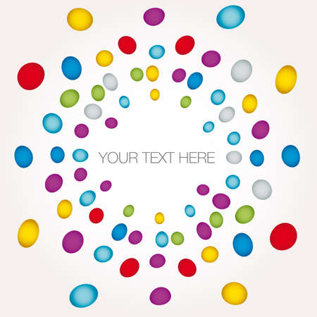multicolored dot background point illustration Vector