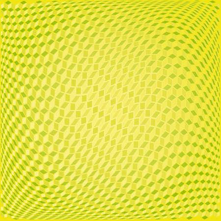 3D cubes, seamless texture background Vector