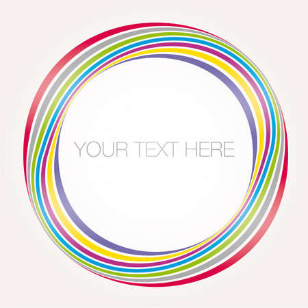 vectorial: abstract colorful banner. SAMPLE TEXT