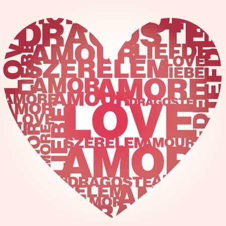my dear: San Valentino cuore dalle parole di dolce amore