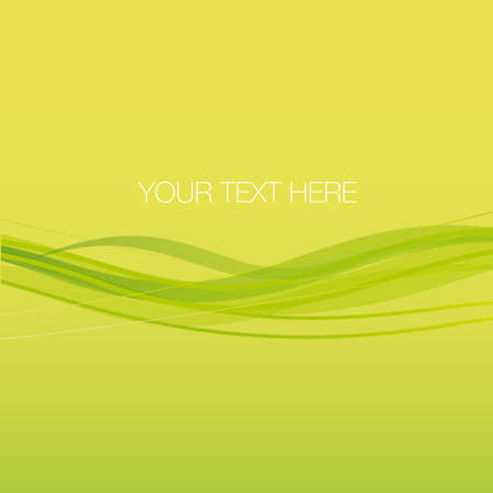 Abstract background green motion Vector