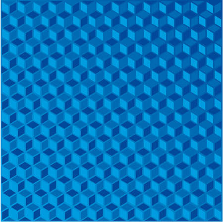 Abstract transparent blue background - vector illustration 3D Vector