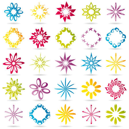 Set of different icons for your design Stock Photo - 8487427