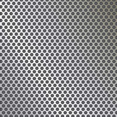 grid: Griglia metallica trama vettoriale