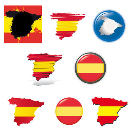 set of national subjects Spain photo