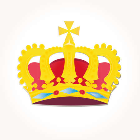 czar: crowns vector Stock Photo