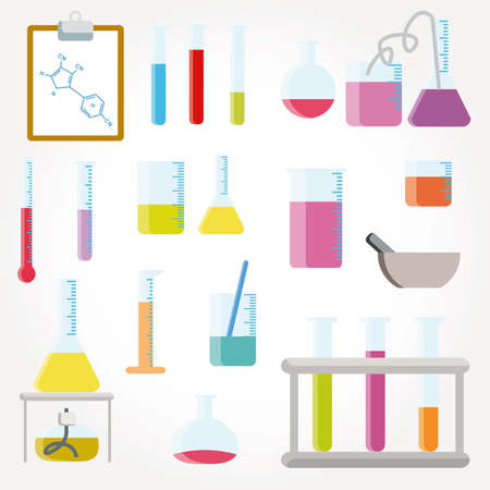 Chemical objects Stock Vector - 9664037