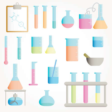 Chemical objects Stock Vector - 9664039