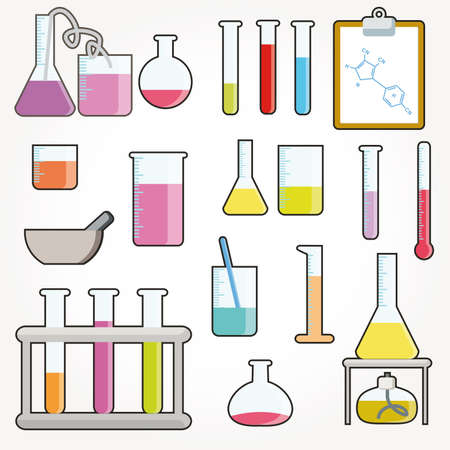 Chemical objects Stock Vector - 9664036