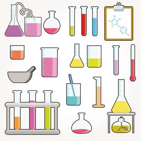 material de vidrio: Objetos qu�micos