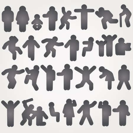 oldman: Icon Sign Symbol Pictogram