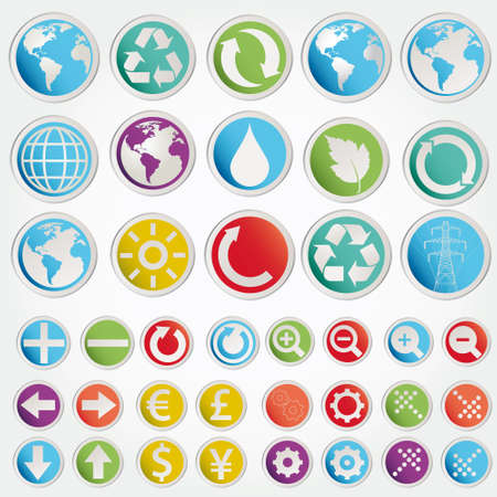 vector set various forms symbols Stock Vector - 12491054