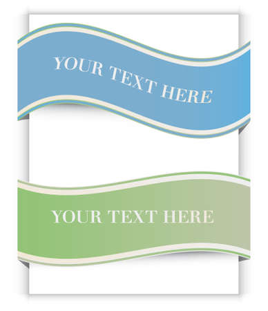Vector ribbons set Stock Vector - 12772784
