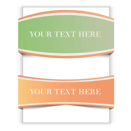 Vector ribbons set Stock Vector - 12772783