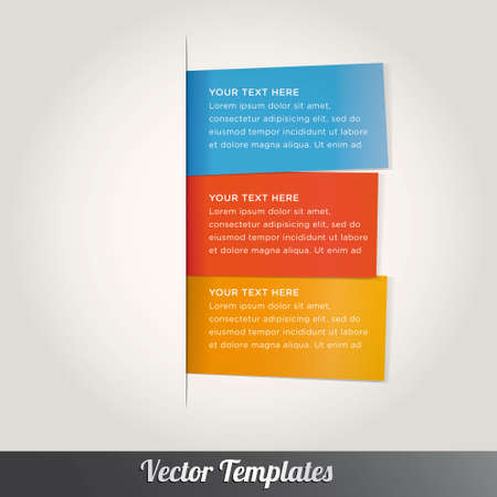 text free space: Vector speech templates for text