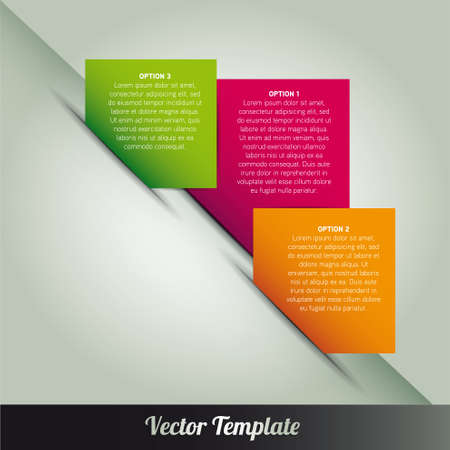 Template illustration Vector