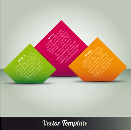 Template illustration Stock Vector - 17995554