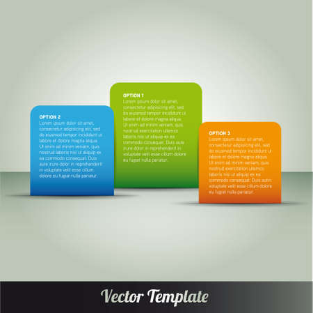 Template illustration Stock Vector - 17995559