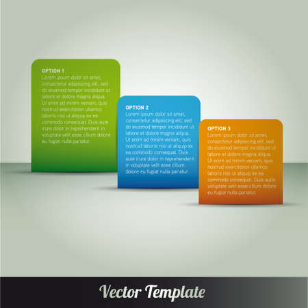Template illustration Stock Vector - 17995556