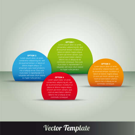 Template illustration Stock Vector - 17995557